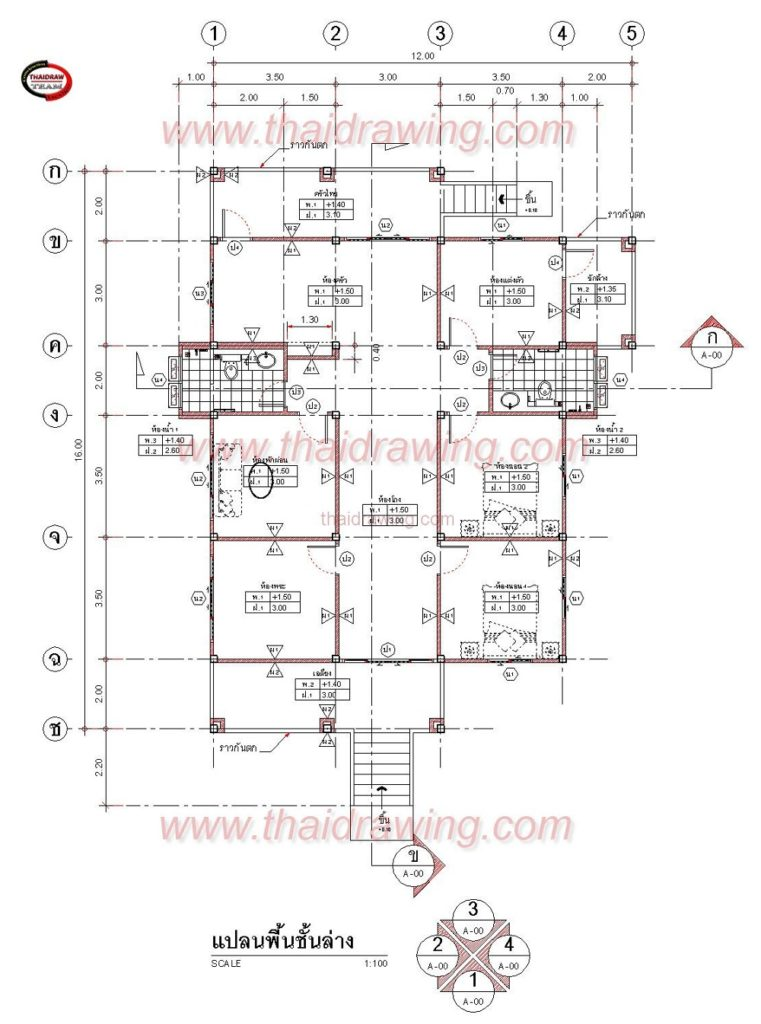 1-storey-thai-contemporary-classic-house-4