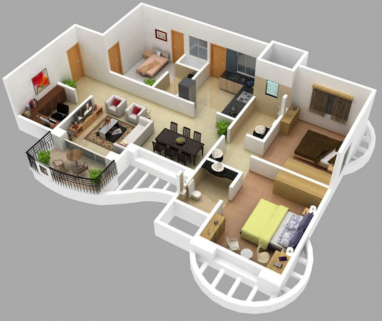 15-amazing-dreamy-modern-floor-plans-1