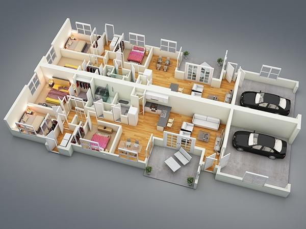 15-amazing-dreamy-modern-floor-plans-11