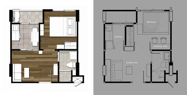 28-sqm-loft-condo-decoration-review-2