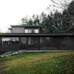 บ้านตากอากาศ สไตล์โมเดิร์นโครงสร้างคอนกรีต โทนสีดำ 2 ห้องนอน 2 ห้องน้ำ