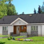 บ้านหลังคาจั่ว ออกแบบน้อยๆเรียบง่าย อัดแน่นไว้ 3 ห้องนอน 2 ห้องน้ำ เหมาะกับครอบครัวแรกเริ่ม