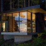บ้านตากอากาศริมทะเล หลังเล็กกะทัดรัด ออกแบบด้วยโครงสร้างเหล็ก ดีไซน์ทันสมัย