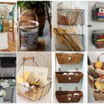"""รวม 30 ไอเดีย """"ตะกร้าใส่ของ"""" ตกแต่งง่ายๆ หลากหลายรูปแบบ ด้วยการ DIY ร่วมกับของใช้ภายในบ้าน"""
