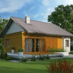 บ้านเดี่ยวหลังเล็ก ออกแบบสไตล์ร่วมสมัย ผสมวัสดุจากไม้เข้ากับงานคอนกรีต 2 ห้องนอนภายใน รองรับครอบครัวแรกเริ่ม