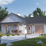บ้านสวนสไตล์ร่วมสมัย ตกแต่งด้วยงานไม้ พร้อมซุ้มไม้หน้าบ้าน 3 ห้องนอนเล็กๆ กำลังดี