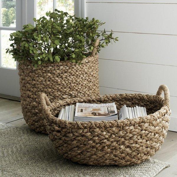 diy-flower-pots-creative-home-decoration-ideas-basket-flower-boxes