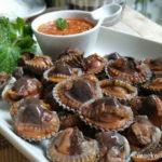 """น้ำลายแตกฟอง!! ชวนทำ """"หอยแครงลวกจิ้ม"""" เนื้อหวานอร่อย พร้อมสูตรน้ำจิ้มซีฟู้ดถั่วตัด เข้ากันดีสุดๆ"""