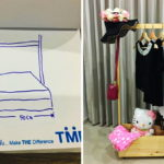DIY ราวแขวนเสื้อไม้แบบเคลื่อนที่ได้ ใช้ง่าย ย้ายสะดวก ฉบับผู้หญิงทำเองไม่ง้อแรงชาย!!
