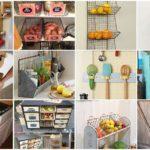 รวม 45 ไอเดียชั้นวางของ ในรูปแบบ DIY เพิ่มการใช้งานให้กับห้องครัว