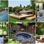 """36 ไอเดีย """"อ่างอาบน้ำกลางแจ้ง"""" สร้างพื้นที่อาบน้ำร่วมกับธรรมชาติ รองรับการพักผ่อนไปในตัว"""