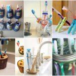 รวมไอเดีย 36 แบบ DIY ที่แขวนแปรงสีฟัน ทำงานๆ จากของใกล้ตัว ไม่เสียค่าใช้จ่าย