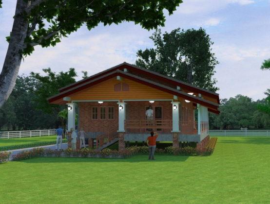 1-storey-beautiful-brick-countryside-house-3-554x420