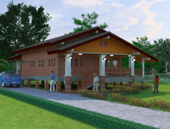 1-storey-beautiful-brick-countryside-house-5-554x420