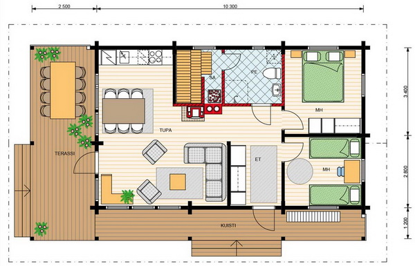 1 storey cozy country house (2)