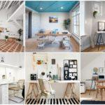42 ห้องทำงานขนาดเล็ก ที่ตกแต่งในโทนสว่าง สไตล์แสกนดิเนเวีย สร้างความโปร่งโล่งแก่ภายในบ้าน รับการทำงานได้ดีเยี่ยม