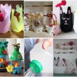 รวมไอเดีย 30 ขวดพลาสติก ตกแต่งของใช้ภายในบ้าน สร้างง่ายๆ จากการ DIY เพิ่มเติมสีสันให้แก่มุมพักผ่อนของคุณ
