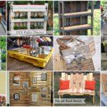 อัพเดท!! 100+ ไอเดีย เฟอร์นิเจอร์จากไม้พาเลท DIY ของใช้ใหม่ จากของเหลือใช้ ไอเดียดีๆที่สามารถต่อยอดทำขายได้