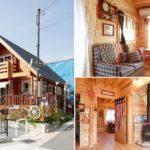 แบบบ้านไม้ Log Cabin ตกแต่งสไตล์คันทรี่ สวยงามเรียบง่าย ด้วยงานไม้ทั้งหลัง