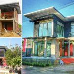 """รีวิว """"สร้างบ้านโมเดิร์นลอฟท์สองชั้น"""" สวยดิบทันสมัย ในงบประมาณไม่เกิน 2 ล้านบาท"""