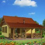 บ้านท้ายสวน ขนาดเล็กๆ กำลังดี 1 ห้องนอน 1 ห้องน้ำ ตกแต่งเรียบง่าย คุ้นตาคนไทย