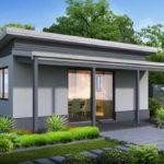 แบบบ้านโมเดิร์นราคาประหยัด เรียบง่ายกะทัดรัด ในงบประมาณ 360,000 บาท