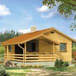 บ้านสวนวัสดุจากไม้ สไตล์คอทเทจสมัยใหม่ 1 ห้องนอน 1 ห้องน้ำ เหมาะกับการใช้ชีวิตที่เรียบง่ายของคนไทย