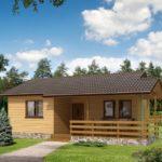 บ้านสวนหลังเล็กๆ ขนาด 1 ห้องนอน 1 ห้องน้ำ ออกแบบเรียบง่าย ใช้งบก่อสร้างที่จำกัด