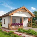 บ้านพักชั่วคราว 1 ห้องโถง 1 ห้องน้ำ ออกแบบเรียบง่าย ไอเดียที่เหมาะกับบ้านสวน บ้านตากอากาศ