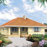บ้านเดี่ยวร่วมสมัย ออกแบบรูปทรงแบบบ้านคลาสสิค 2 ห้องนอน 1 ห้องน้ำ รองรับครอบครัวแรกเริ่ม