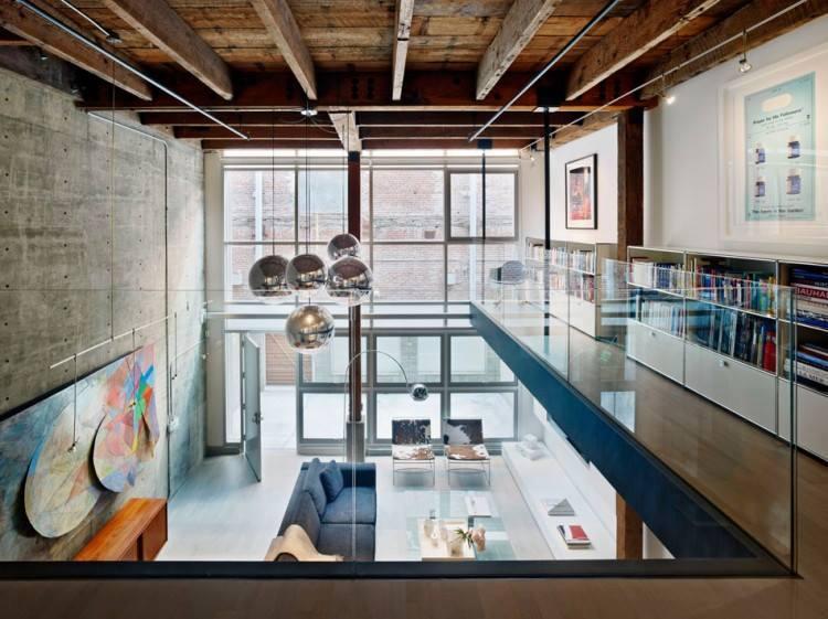 78 loft interior decoration ideas (10)