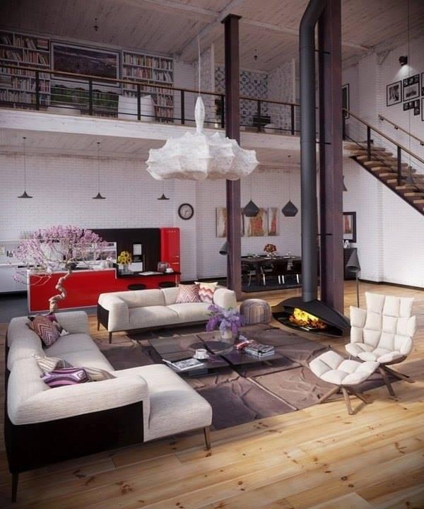 78 loft interior decoration ideas (13)