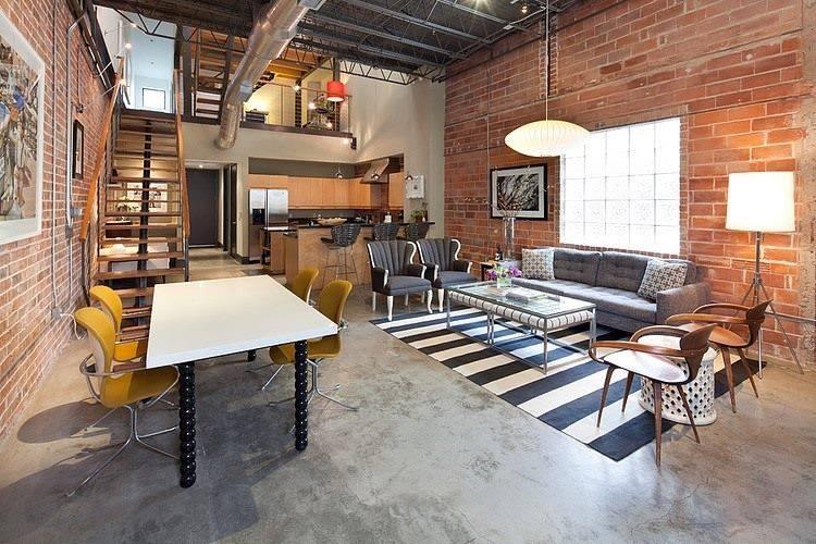 78 loft interior decoration ideas (17)