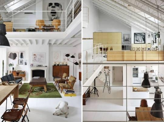 78 loft interior decoration ideas (25)