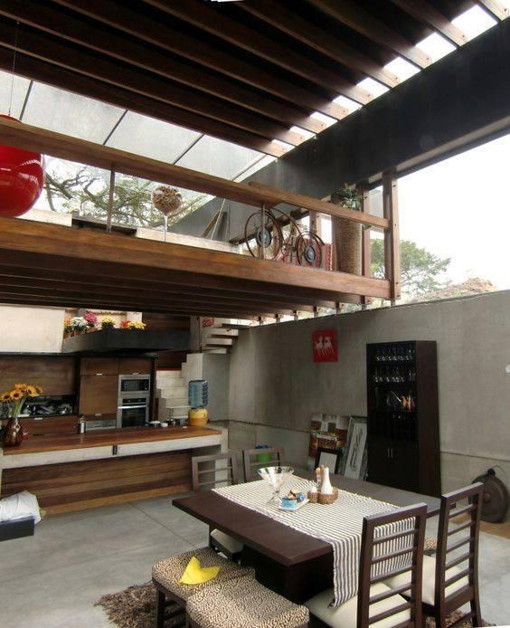 78 loft interior decoration ideas (54)