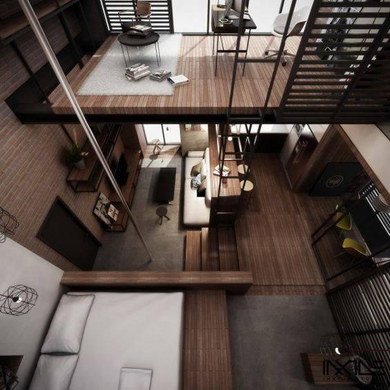 78 loft interior decoration ideas (77)