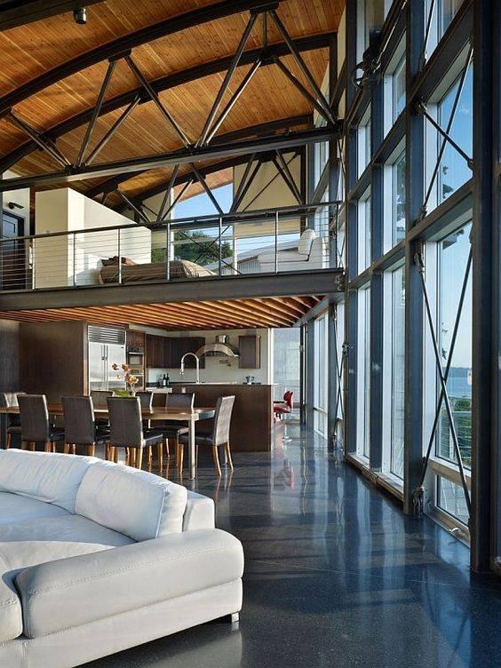 78 loft interior decoration ideas (78)