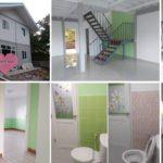 Review : สร้างบ้านสองชั้น พอเพียงเรียบง่าย ดีไซน์โปร่งโล่ง ใช้งบประมาณ 7.8 แสนบาท