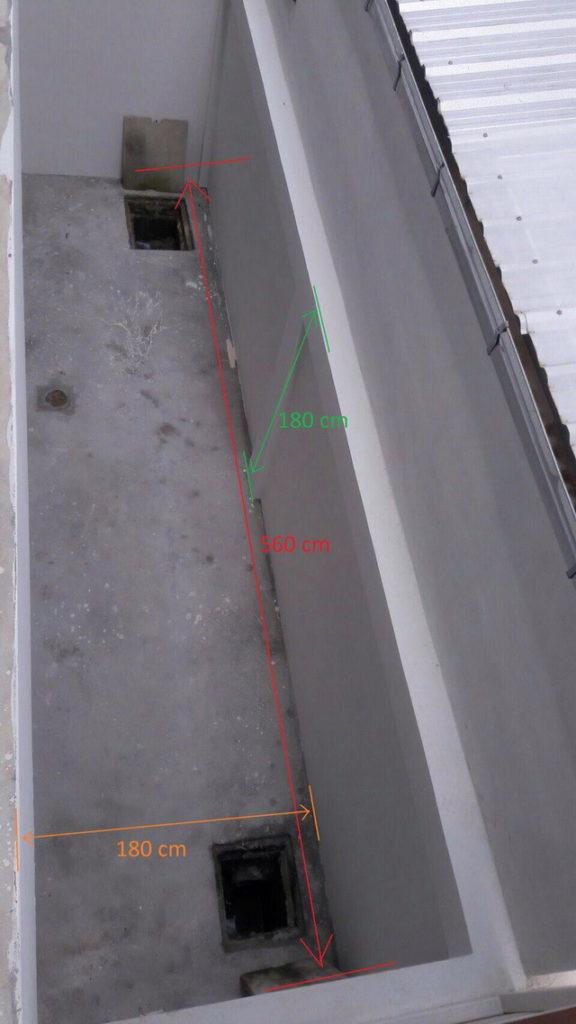backyard townhome loft kitchen renovation (1)