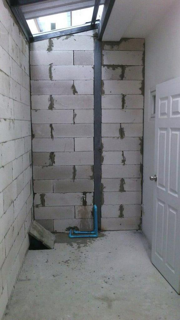 backyard townhome loft kitchen renovation (10)