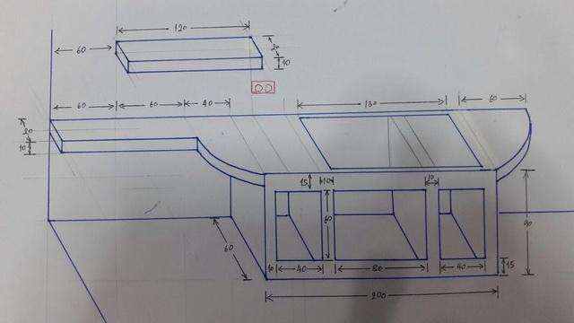 backyard townhome loft kitchen renovation (15)