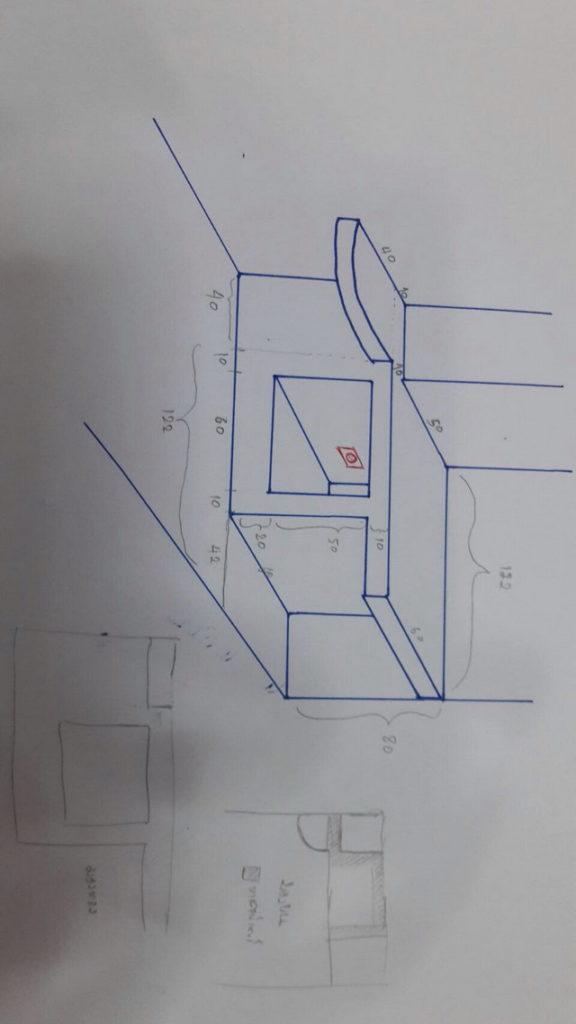 backyard townhome loft kitchen renovation (16)