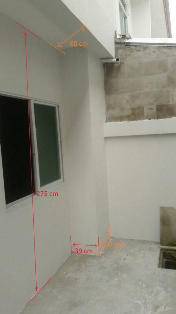 backyard townhome loft kitchen renovation (3)