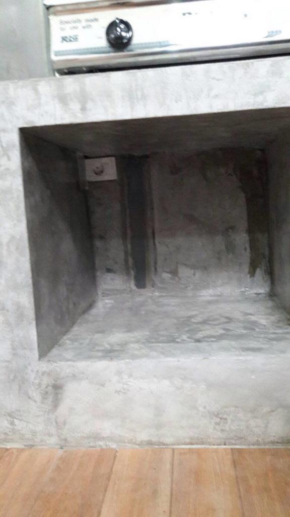 backyard townhome loft kitchen renovation (32)
