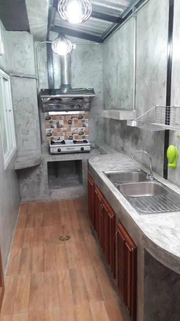 backyard townhome loft kitchen renovation (4)