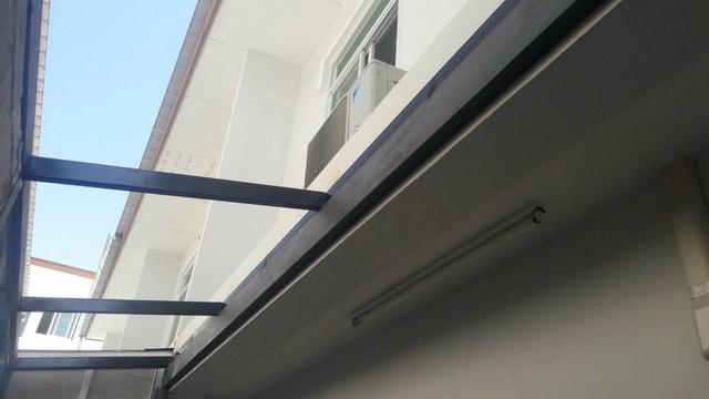 backyard townhome loft kitchen renovation (9)