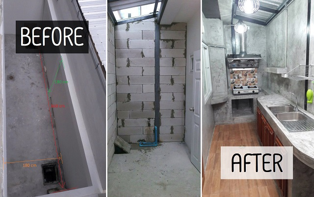 backyard townhome loft kitchen renovation COVER