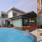Review : บ้านโมเดิร์นในฝัน ครบครันทันสมัย บรรยากาศสุดชิลล์ มาพร้อมสระว่ายน้ำเล็กๆ