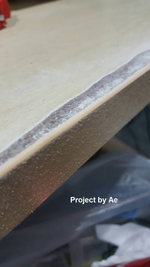 how to fix soaked wood table diy (10)