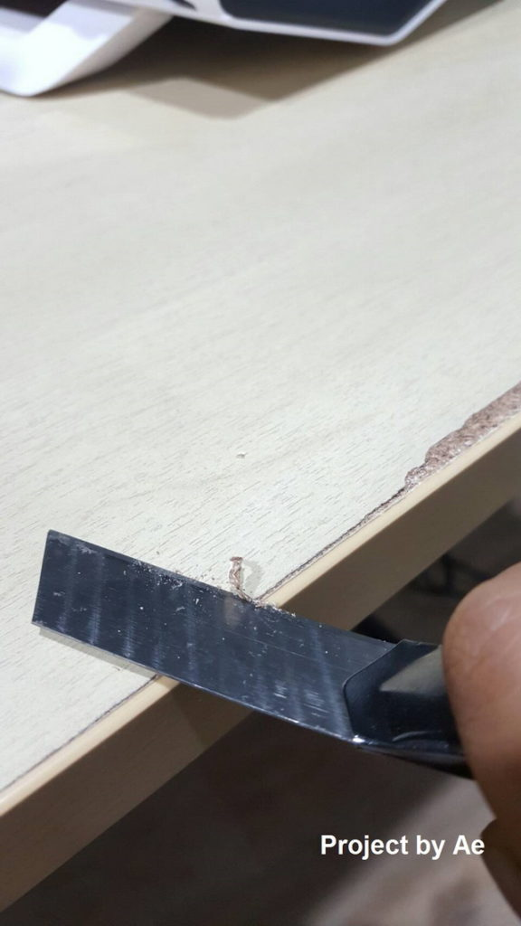 how to fix soaked wood table diy (3)